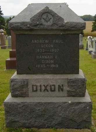 DIXON, ANDREW PAUL - Lincoln County, South Dakota | ANDREW PAUL DIXON - South Dakota Gravestone Photos