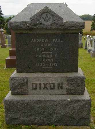 DIXON, ANDREW PAUL - Lincoln County, South Dakota | ANDREW PAUL DIXON - South Dakota Gravestone Photos