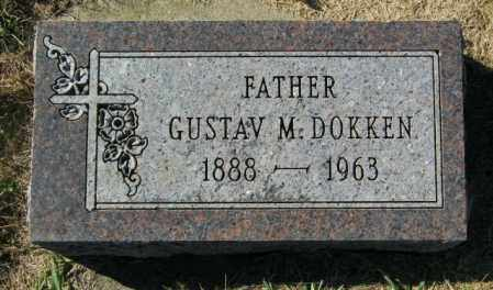 DOKKEN, GUSTAV M. - Lincoln County, South Dakota | GUSTAV M. DOKKEN - South Dakota Gravestone Photos