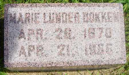 LUNDER DOKKEN, MARIE - Lincoln County, South Dakota | MARIE LUNDER DOKKEN - South Dakota Gravestone Photos
