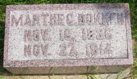 DOKKEN, MARTHA G - Lincoln County, South Dakota   MARTHA G DOKKEN - South Dakota Gravestone Photos