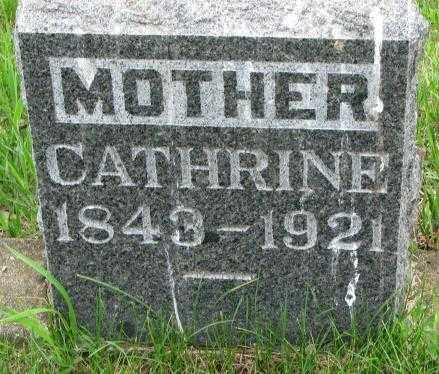 DONAHUE, CATHRINE - Lincoln County, South Dakota | CATHRINE DONAHUE - South Dakota Gravestone Photos