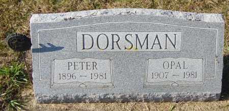 DORSMAN, OPAL - Lincoln County, South Dakota | OPAL DORSMAN - South Dakota Gravestone Photos