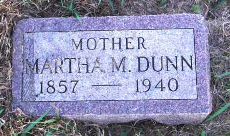DUNN, MARTHA M. - Lincoln County, South Dakota | MARTHA M. DUNN - South Dakota Gravestone Photos