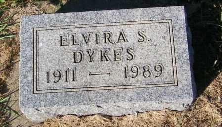DYKES, ELVIRA S. - Lincoln County, South Dakota | ELVIRA S. DYKES - South Dakota Gravestone Photos