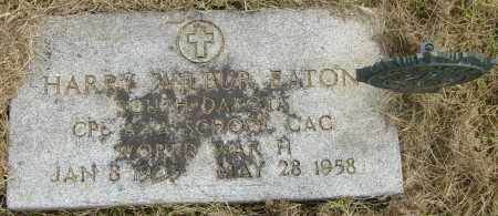 EATON, HARRY WILBUR - Lincoln County, South Dakota | HARRY WILBUR EATON - South Dakota Gravestone Photos