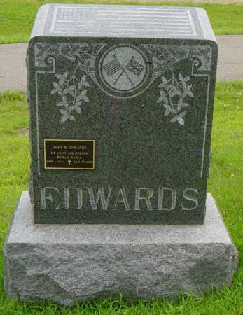 EDWARDS, ERNEST - Lincoln County, South Dakota | ERNEST EDWARDS - South Dakota Gravestone Photos