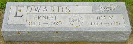 EDWARDS, IDA M - Lincoln County, South Dakota | IDA M EDWARDS - South Dakota Gravestone Photos