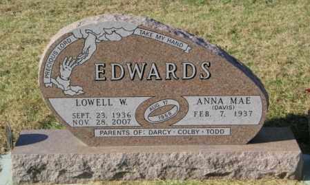 EDWARDS, ANNA MAE - Lincoln County, South Dakota | ANNA MAE EDWARDS - South Dakota Gravestone Photos
