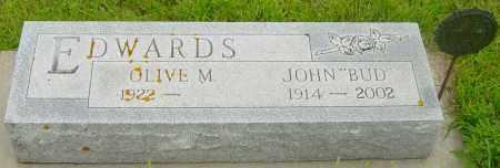 EDWARDS, OLIVE M - Lincoln County, South Dakota | OLIVE M EDWARDS - South Dakota Gravestone Photos