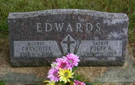 EDWARDS, ROGER A - Lincoln County, South Dakota   ROGER A EDWARDS - South Dakota Gravestone Photos