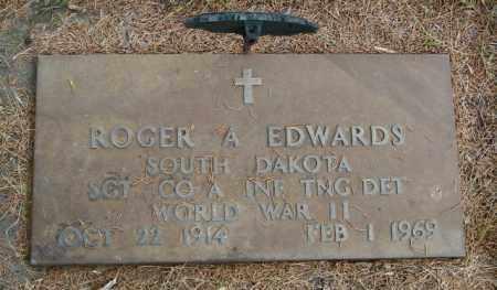 EDWARDS, ROGER A - Lincoln County, South Dakota | ROGER A EDWARDS - South Dakota Gravestone Photos