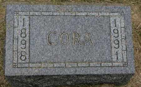 EGGE, CORA - Lincoln County, South Dakota | CORA EGGE - South Dakota Gravestone Photos