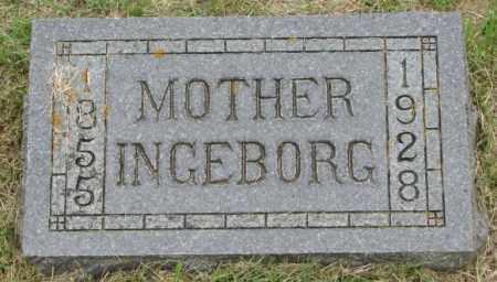 EGGE, INGEBORG - Lincoln County, South Dakota | INGEBORG EGGE - South Dakota Gravestone Photos