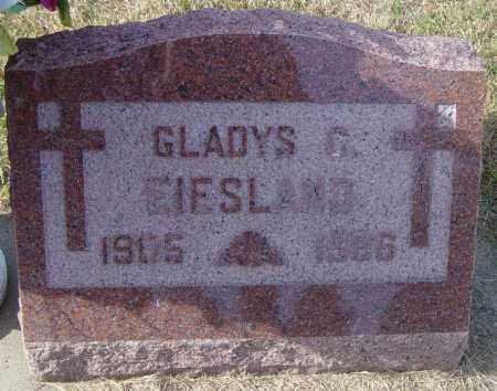 EIESLAND, GLADYS C - Lincoln County, South Dakota | GLADYS C EIESLAND - South Dakota Gravestone Photos
