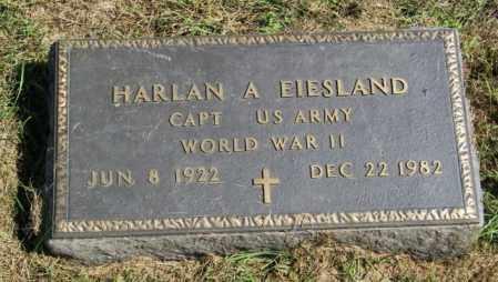 EIESLAND, HARLAN A. - Lincoln County, South Dakota | HARLAN A. EIESLAND - South Dakota Gravestone Photos