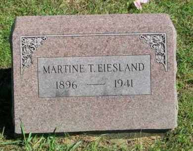 EIESLAND, MARTINE - Lincoln County, South Dakota   MARTINE EIESLAND - South Dakota Gravestone Photos