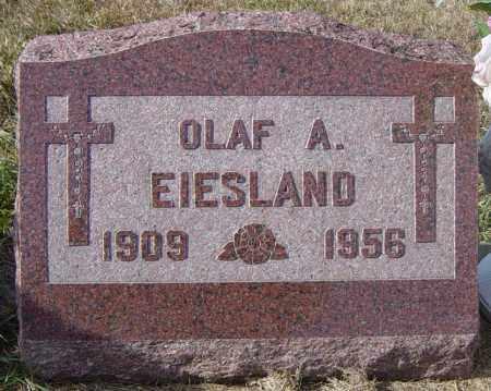 EIESLAND, OLAF A - Lincoln County, South Dakota | OLAF A EIESLAND - South Dakota Gravestone Photos