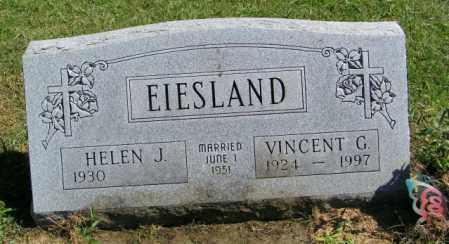 EIESLAND, VINCENT G. - Lincoln County, South Dakota   VINCENT G. EIESLAND - South Dakota Gravestone Photos
