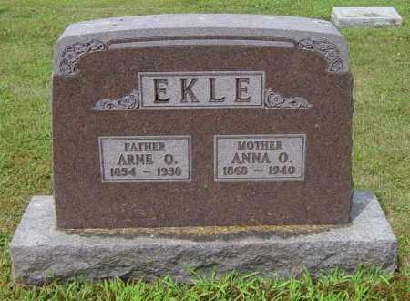 EKLE, ARNE O - Lincoln County, South Dakota | ARNE O EKLE - South Dakota Gravestone Photos