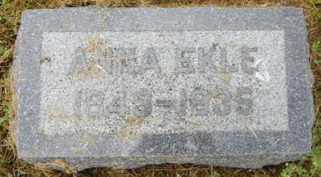 EKLE, ANNA - Lincoln County, South Dakota | ANNA EKLE - South Dakota Gravestone Photos