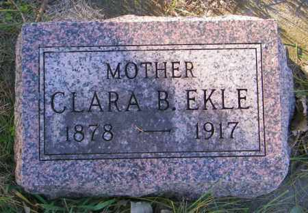 EKLE, CLARA B. - Lincoln County, South Dakota | CLARA B. EKLE - South Dakota Gravestone Photos