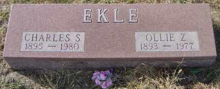 EKLE, OLLIE Z - Lincoln County, South Dakota | OLLIE Z EKLE - South Dakota Gravestone Photos