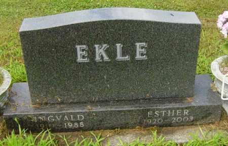 EKLE, ESTHER - Lincoln County, South Dakota | ESTHER EKLE - South Dakota Gravestone Photos