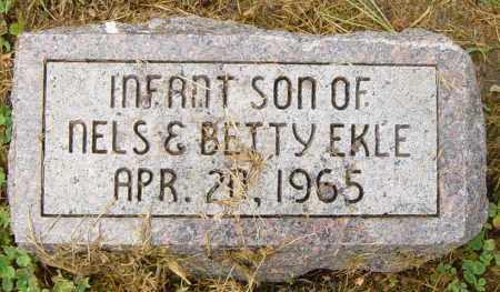 EKLE, INFANT SON - Lincoln County, South Dakota | INFANT SON EKLE - South Dakota Gravestone Photos
