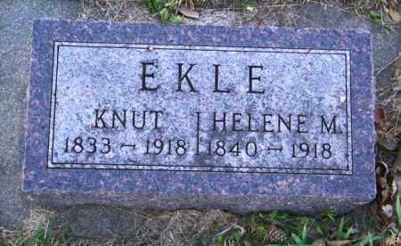 EKLE, HELENE M. - Lincoln County, South Dakota | HELENE M. EKLE - South Dakota Gravestone Photos