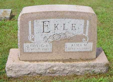 EKLE, LUDVIG R - Lincoln County, South Dakota | LUDVIG R EKLE - South Dakota Gravestone Photos