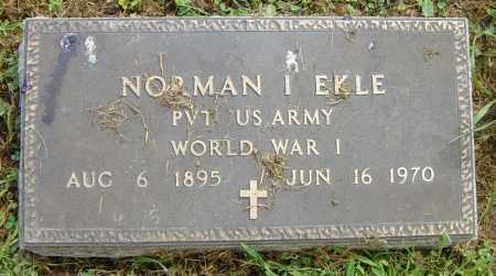 EKLE, NORMAN I - Lincoln County, South Dakota | NORMAN I EKLE - South Dakota Gravestone Photos