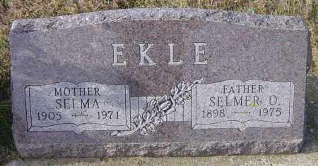 EKLE, SELMER O - Lincoln County, South Dakota | SELMER O EKLE - South Dakota Gravestone Photos