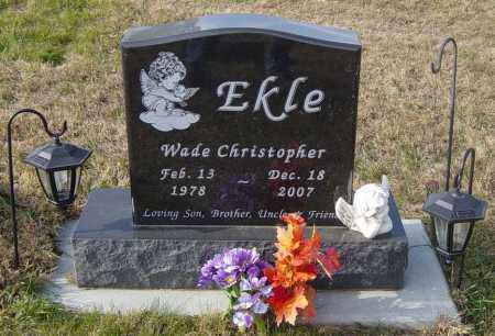 EKLE, WADE CHRISTOPHER - Lincoln County, South Dakota | WADE CHRISTOPHER EKLE - South Dakota Gravestone Photos