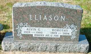 ELIASON, ALVIN G. - Lincoln County, South Dakota | ALVIN G. ELIASON - South Dakota Gravestone Photos