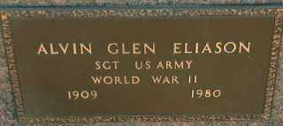 ELIASON, ALVIN GLEN - Lincoln County, South Dakota | ALVIN GLEN ELIASON - South Dakota Gravestone Photos