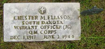 ELIASON, CHESTER M - Lincoln County, South Dakota | CHESTER M ELIASON - South Dakota Gravestone Photos