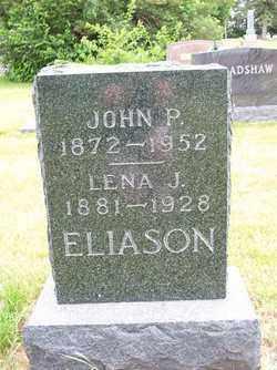 ELIASON, LENA J. - Lincoln County, South Dakota   LENA J. ELIASON - South Dakota Gravestone Photos