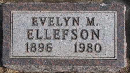 ELLEFSON, EVELYN M. - Lincoln County, South Dakota   EVELYN M. ELLEFSON - South Dakota Gravestone Photos