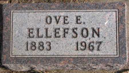 ELLEFSON, OVE E. - Lincoln County, South Dakota | OVE E. ELLEFSON - South Dakota Gravestone Photos