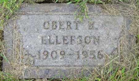 ELLEFSON, OBERT B - Lincoln County, South Dakota | OBERT B ELLEFSON - South Dakota Gravestone Photos