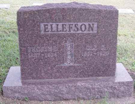 ELLEFSON, OLE O - Lincoln County, South Dakota | OLE O ELLEFSON - South Dakota Gravestone Photos