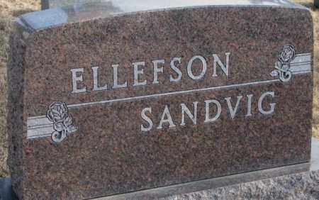 ELLEFSON/SANDVIG, PLOT - Lincoln County, South Dakota | PLOT ELLEFSON/SANDVIG - South Dakota Gravestone Photos