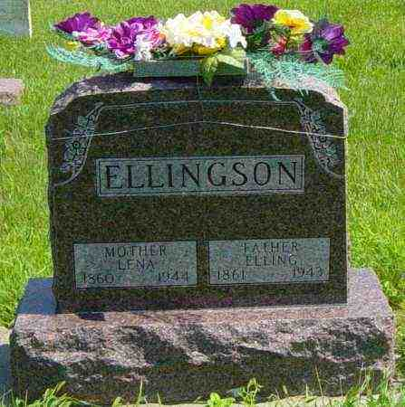 ELLINGSON, LENA - Lincoln County, South Dakota | LENA ELLINGSON - South Dakota Gravestone Photos