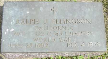 ELLINGSON, RALPH J - Lincoln County, South Dakota   RALPH J ELLINGSON - South Dakota Gravestone Photos