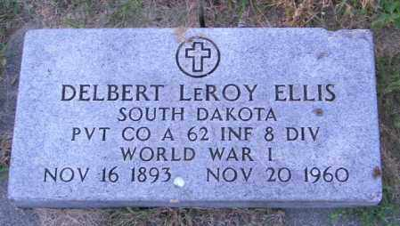 ELLIS, DELBERT LEROY - Lincoln County, South Dakota | DELBERT LEROY ELLIS - South Dakota Gravestone Photos