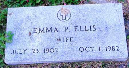 ELLIS, EMMA P. - Lincoln County, South Dakota | EMMA P. ELLIS - South Dakota Gravestone Photos
