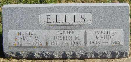 ELLIS, JOSEPH M - Lincoln County, South Dakota | JOSEPH M ELLIS - South Dakota Gravestone Photos