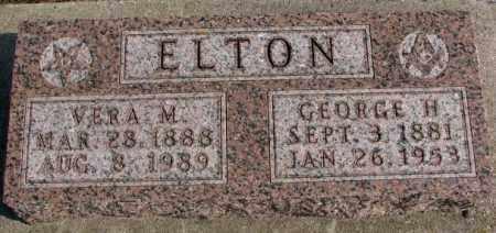 ELTON, GEORGE H. - Lincoln County, South Dakota | GEORGE H. ELTON - South Dakota Gravestone Photos