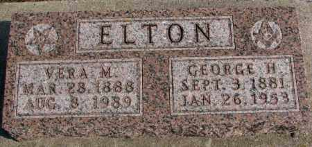 ELTON, GEORGE H. - Lincoln County, South Dakota | GEORGE H. ELTON - South Dakota Gravestone Photos